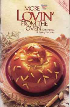Pillsbury More Lovin' From The Oven Cookbook Generations of Baking Favorites 1988