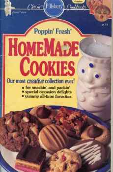 Pillsbury Poppin' Fresh Homemade Cookies Cookbook Classic #104 1989