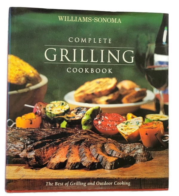 Williams Sonoma Complete Grilling Cookbook Outdoor Cooking Photos Huge Hardcover