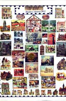 Houses Buildings Scenes Page Mini Prints The Picture Show Scaled Miniatures Dollhouse Miniature 1:12 Scale
