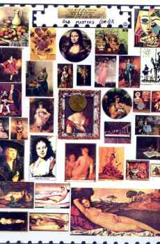 Old Masters Paintings Nudes Page Mini Prints The Picture Show Scaled Miniatures Dollhouse Miniature 1:12 Scale