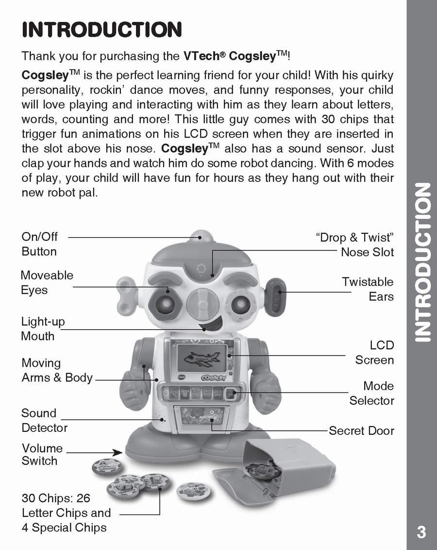 wiring diagram vtech cogsley