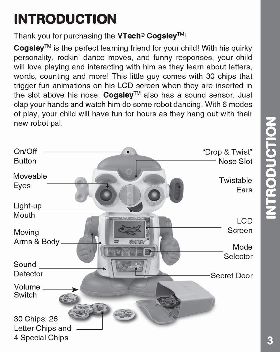 hight resolution of cogsley learning robot instruction manual my collection copy