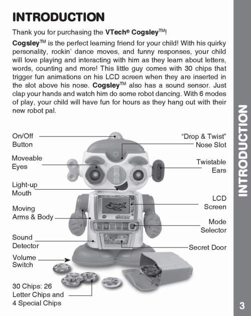small resolution of cogsley learning robot instruction manual my collection copy