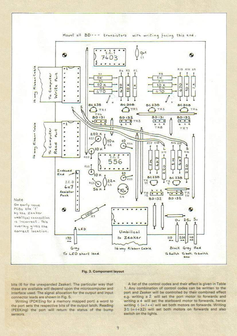 hight resolution of zeaker by david buckley the old robot s web site basic house wiring diagrams buckley wiring diagrams