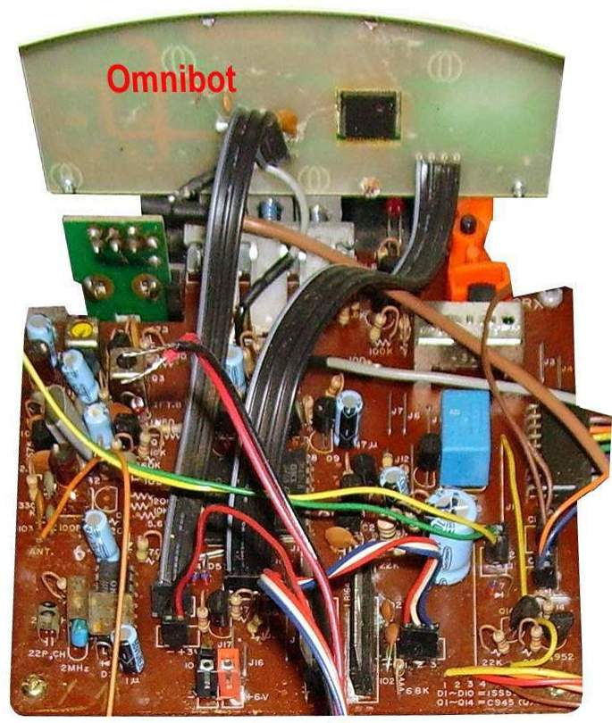 Old Robot39s Web Site The Omnibot Robie Sr Circuit Board Schematics