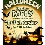 Halloween Party Featuring Live Music From Out Of Order The Old Swan Pub Earls Barton