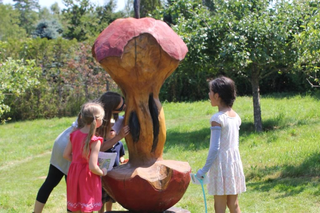 Orchard at Kingsbrae Gardens