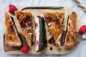 Raspberry-Vanilla-Creme-Brule-Bars