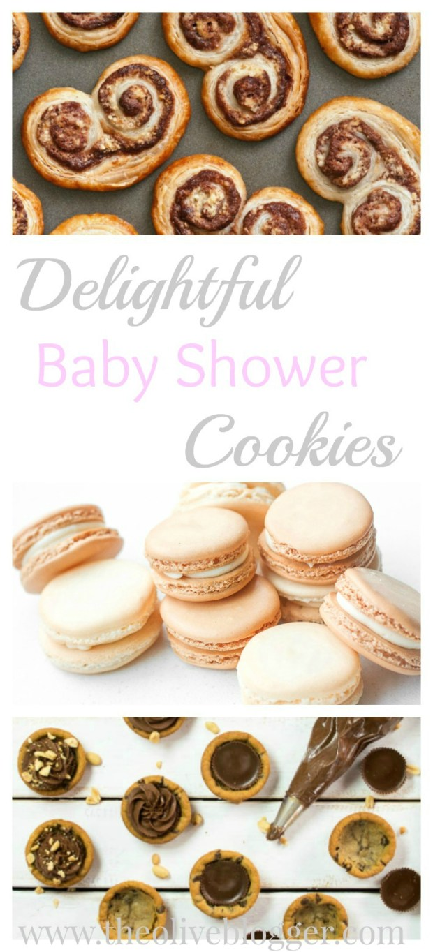 A fun round-up of cookie recipes for baby showers! Featuring both classic cookies and new favorites, there is a cookie for everyone!