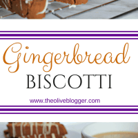 Delicious Gingerbread Biscotti Recipe