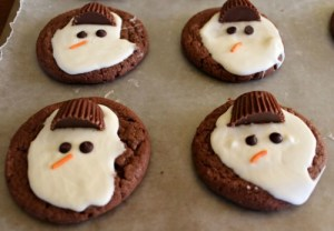Melted-Snowman-Cookies