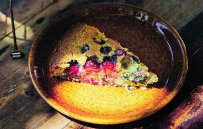 Blueberry & Olive Oil Torte