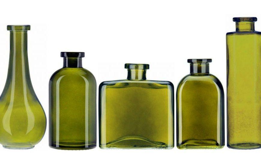 Greenish glass helps olive oil last longer on supermarket shelves