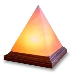 Pyramid Himalayan Salt Lamp-Small Egypt
