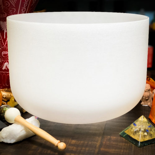 Crystal Singing Bowl The oM SHoppe