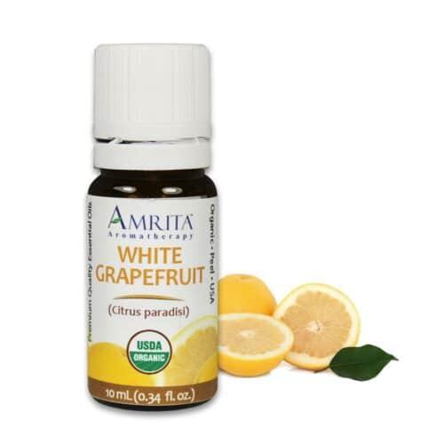 Amrita Essential Oil White Grapefruit - Organic EO-10mL at The OM Shoppe in Sarasota, FL