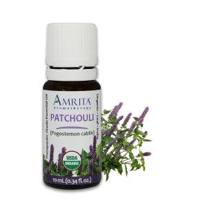 Amrita Essential Oil Patchouli - Organic EO-10mL at The OM Shoppe in Sarasota, FL
