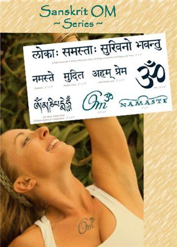 Sanskrit OM Tattoo Pack