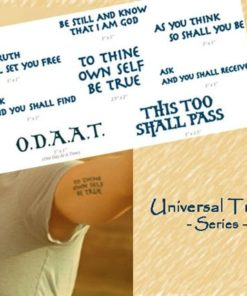 Universal Truths Tattoo Pack