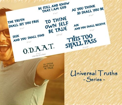Universal Truths Tattoo Pack