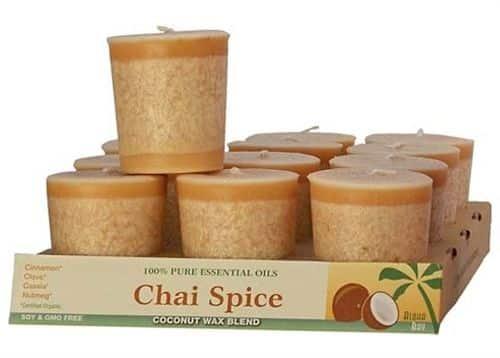 Chai Spice Votive Candle