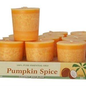 Pumpkin Spice Votive Candle