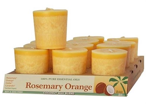 Rosemary Orange Votive Candle