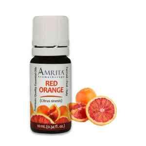 Amrita Essential Oil Red Orange - EO-10mL at The OM Shoppe in Sarasota, FL
