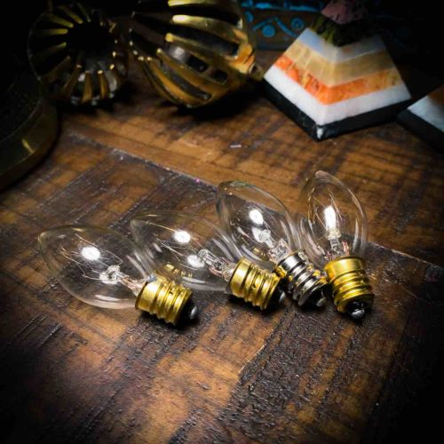 Himalayan Salt Lamp 4 pack bulbs