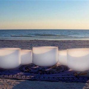All Crystal Singing Bowls