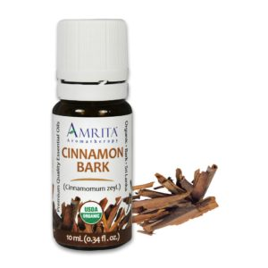 Amrita Essential Oil Cinnamon Bark - Organic EO-5mL at The OM Shoppe in Sarasota, FL