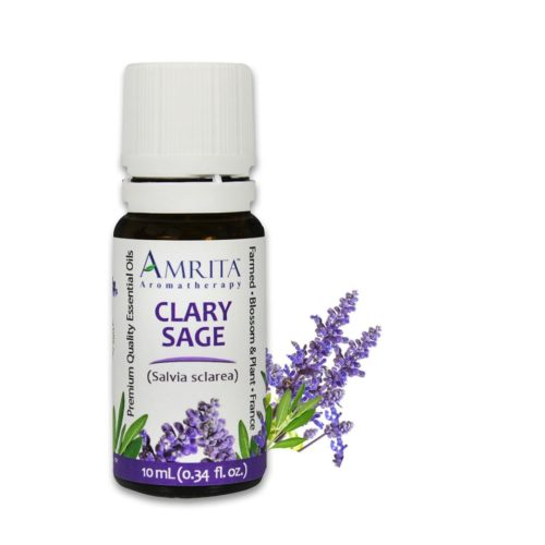 Amrita Essential Oil Clary Sage - Organic EO-5mL at The OM Shoppe in Sarasota, FL
