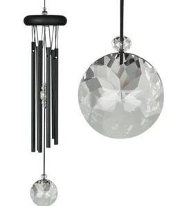 Crystal Meditation Chime - Black