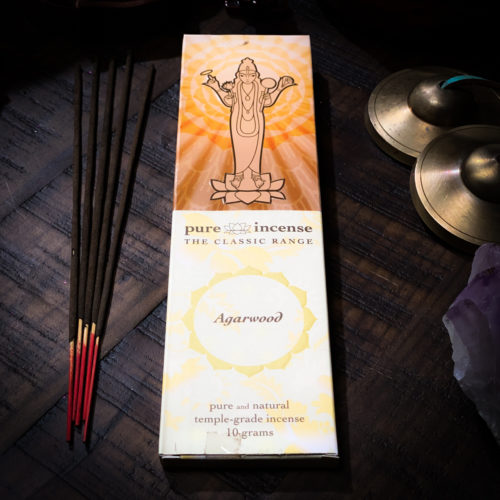Pure Incense Agarwood The Om Shoppe