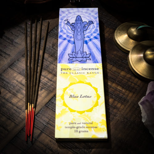 Blue Lotus Pure Incense The OM Shoppe