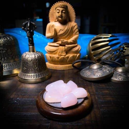 Rose Quartz Premium Tumbled for Meditation