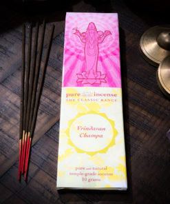 Vrindavan Leela Pure Incense The OM Shoppe