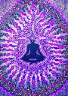 purple aura art