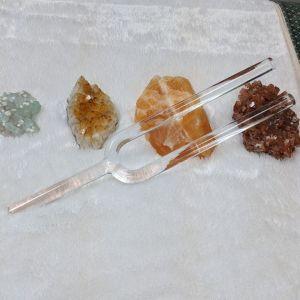 "Crystal Tuning Fork 17"" G Throat Chakra"