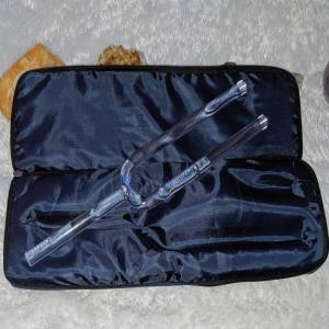 CRYSTAL TUNING FORK CASE INCLUDED WITH TUNING FORKS AT THE OM SHOPPE