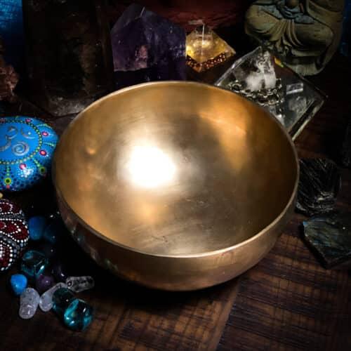 8 inch hand hammered tibetan bowls