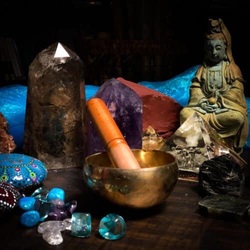 "4.25"" hand hammered tibetan bowl"