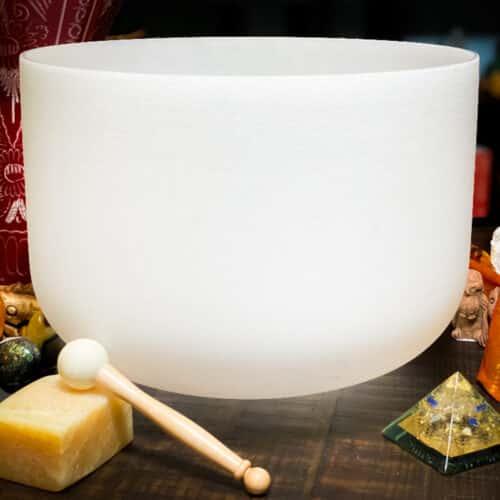 Note D#   High Sacral Chakra Crystal Singing Bowls