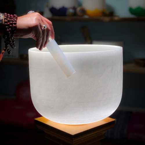 Quartz Crystal Singing Bowl The OM Shoppe