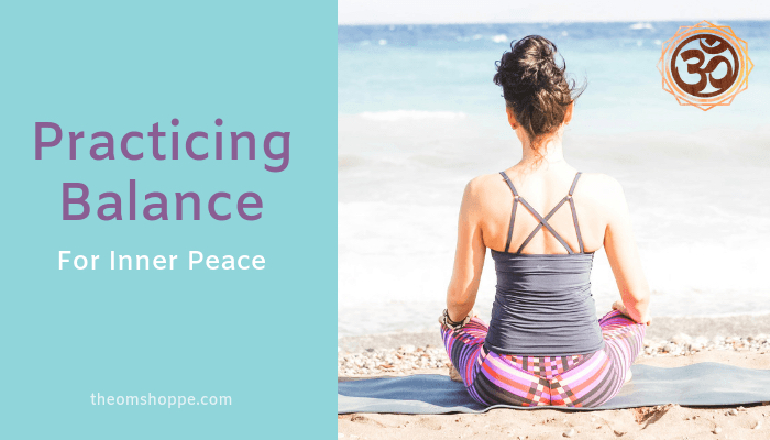 practicing balance for inner peace