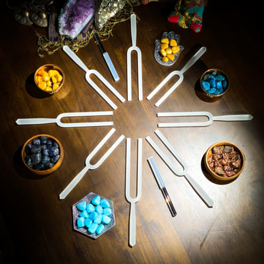 sound healing instruments to help you reach your New Year's resolution