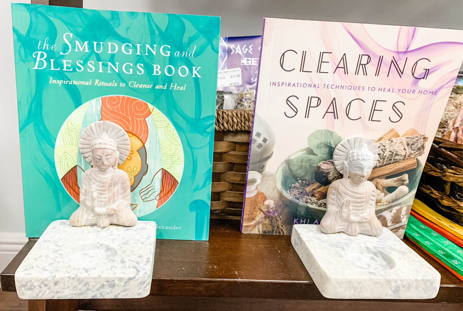 clearing space books as 5 vibrational practices for the waning moon
