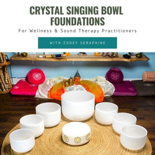 foundations class for crystal singing bowls