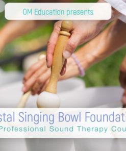 crystal singing bowl foundations